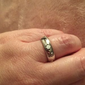 Mont Blanc silver ring